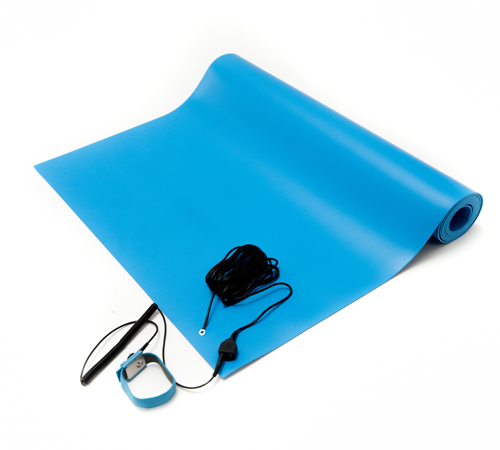 esd general purpose mat kit blue