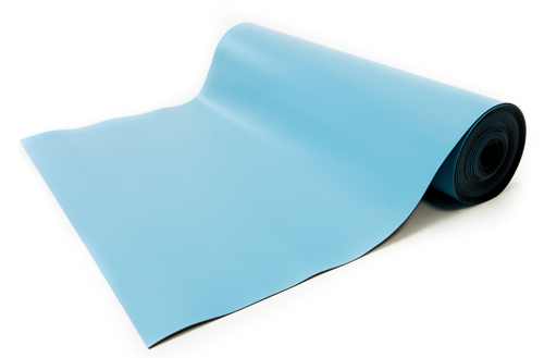 esd high temperature mat blue