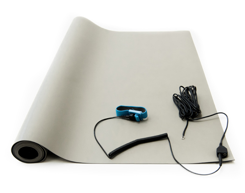 esd soldering mat kit gray
