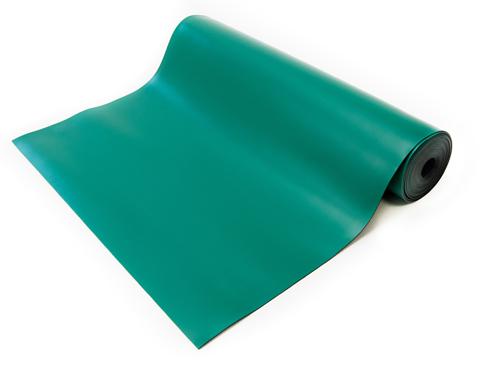 esd soldering rubber mat green