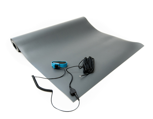 esd vinyl mat kit gray